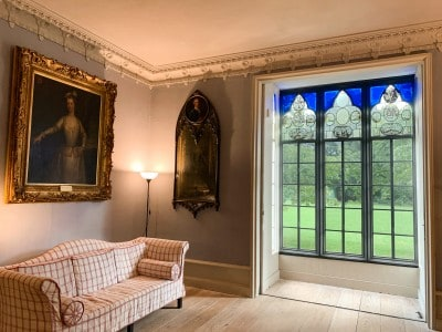 A view of the Great Parlour in Strawberry Hill House - a perfect day trip from London by train