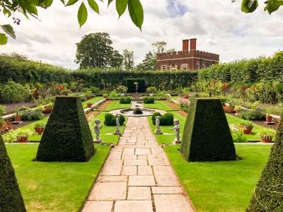 The Pond Garden at Hampton Court Palace