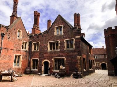 The Master Carpenter's Court at Hampton Court