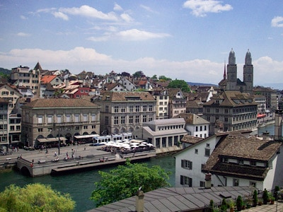 A view from the Lindenhof