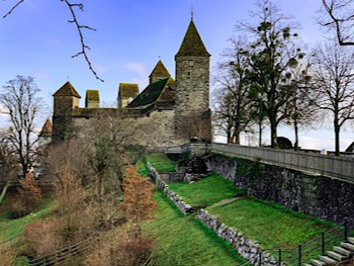 An image of Rapperswil's castle