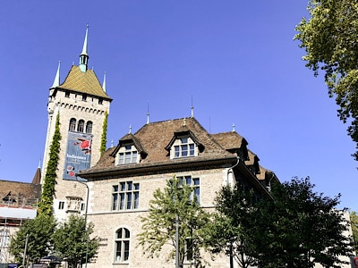 The Swiss National Museum - visiting this is one of the top things to do in Zurich in winter