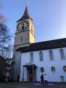 St.Peter's church in Zurich