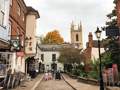 A view of Church Street in Windsor