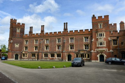 The outside of Eton College