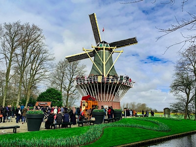 The window that you can see when you visit Keukenhof 2021