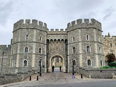 One of the gates of Windsor Castle