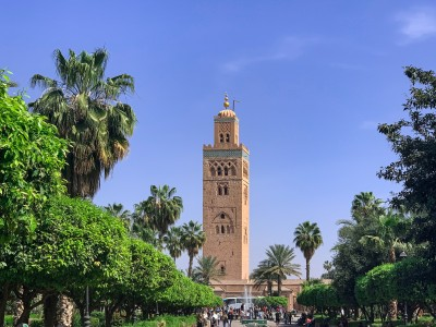 The Koutobia mosque Marrakech - a top sight for your 3 days in Marrakech