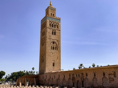 The Koutoubia mosque in Marrakech - a main sight in 3 days in Marrakech