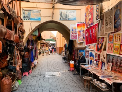 Part of the Marrakech souks that you will wander through in 3 days in Marrakech