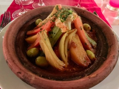 Vegetable tagine - try this out on your 3 days in Marrakech