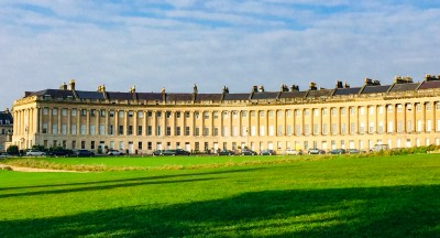 The Royal Crescent in Bath