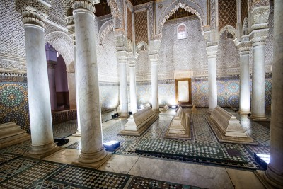 The Saadian Tombs Marrakech