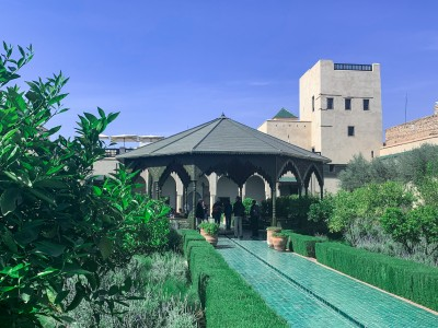 The Secret Garden in Marrakech