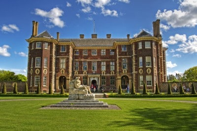 The outside of Ham House - a visit here is one of the things to do in south west London