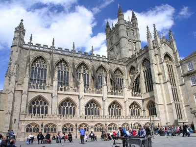 Bath Abbey from the outside