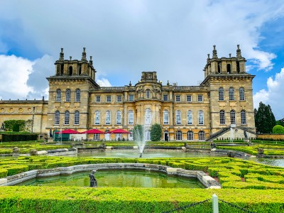 Part of the gardens at Blenheim Palace