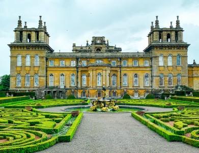 The Italian Garden in Blenheim Palace