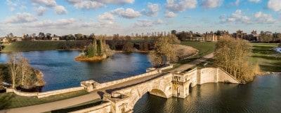 The bridge at Blenheim Palace