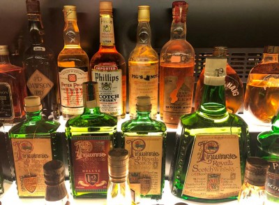 An example of some of the whiskies you can see during your Edinburgh whisky tasting tour