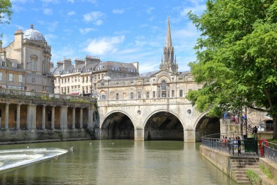 The Pulteney Bridge in Bath