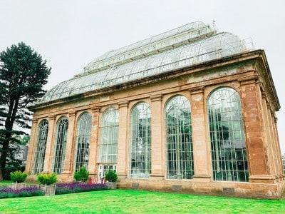 A glasshouse in Edinburgh's Royal Botanic Gardens