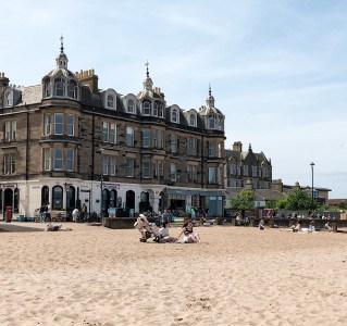 Portobello Beach near Edinburgh