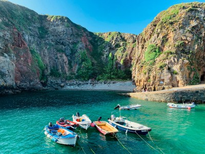 One of the beautiful bays in Sark