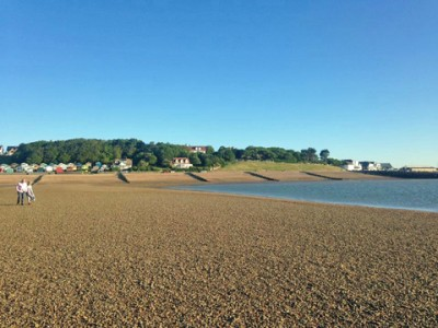 The beach in Whitstable